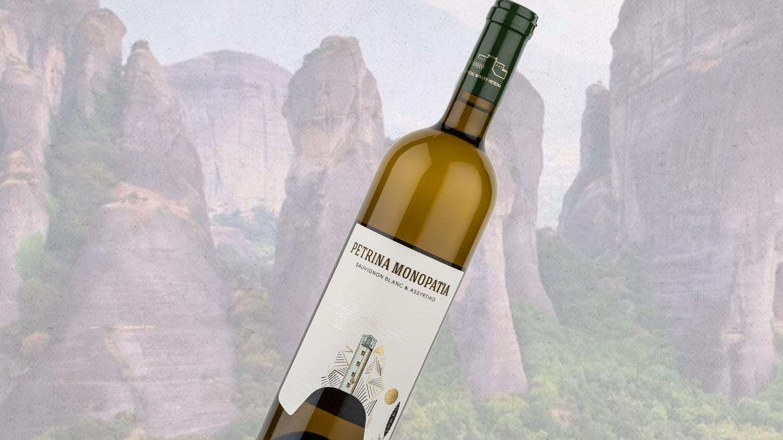 PETRINA MONOPATIA Assyrtiko Sauvignon Blanc | Dry White Wine